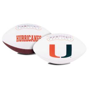 Rawlings Miami Hurricanes Signature Football