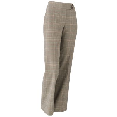 Gloria Vanderbilt Perfect Fit Plaid Trouser Pants