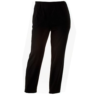 Croft and Barrow Pull-On Twill Pants - Women's Plus