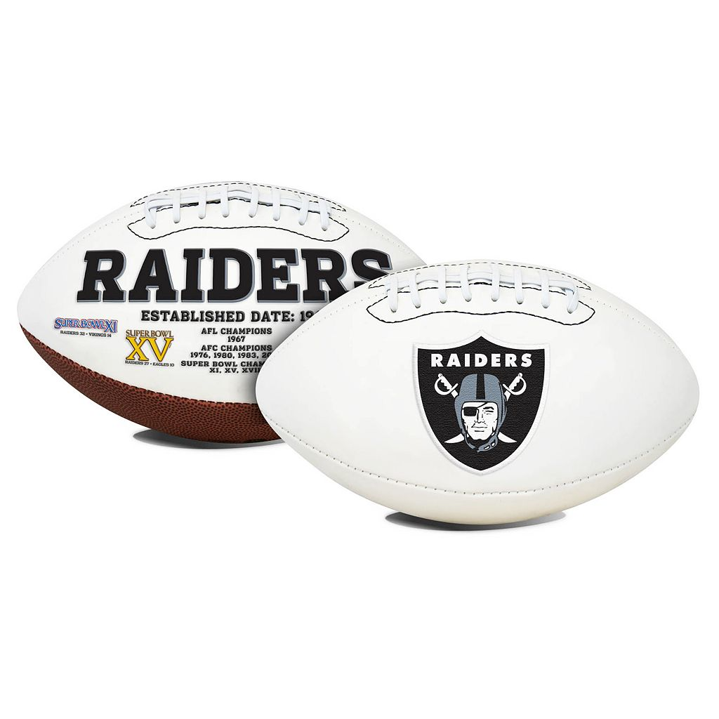 Rawlings® Oakland Raiders Signature Football