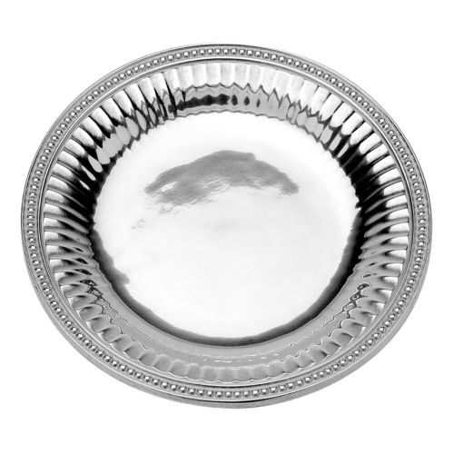 Wilton Armetale Flutes and Pearls Vegetable Serving Tray