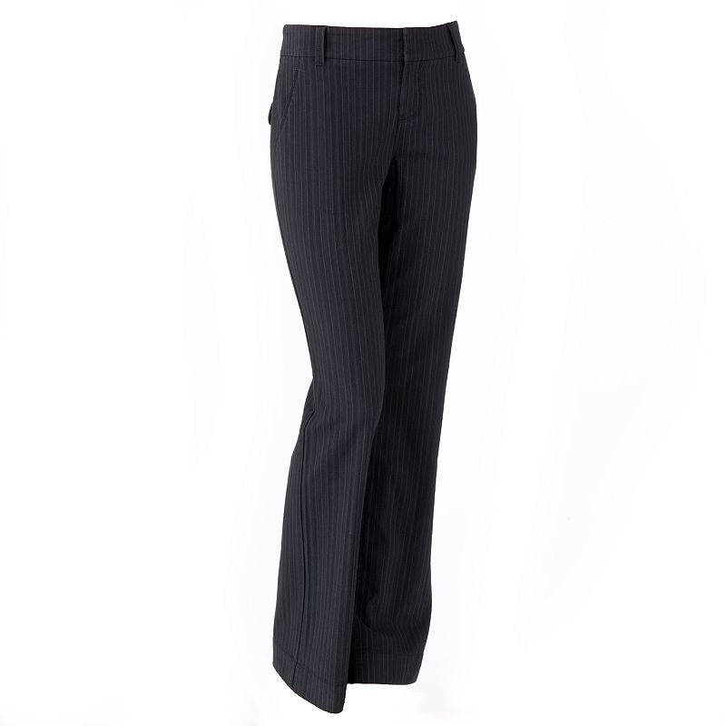 SONOMA life + style Striped Bootcut Pants - Women's