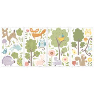Woodland Animals Wall Stickers