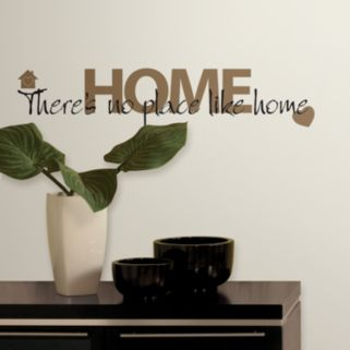 No Place Like Home Wall Stickers