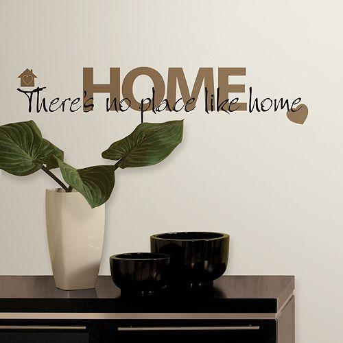 """No Place Like Home"" Wall Stickers"