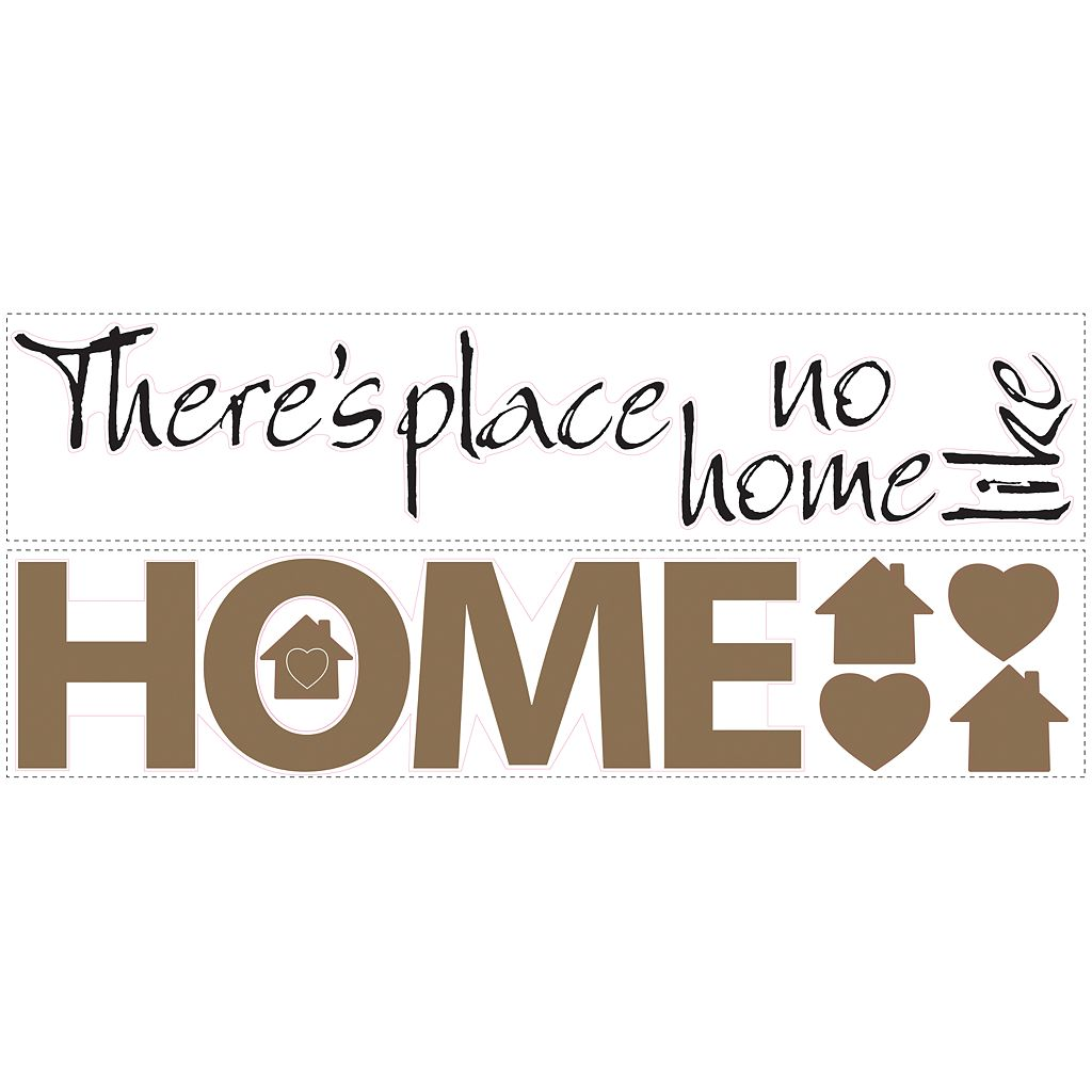 No Place Like Home Wall Stickers