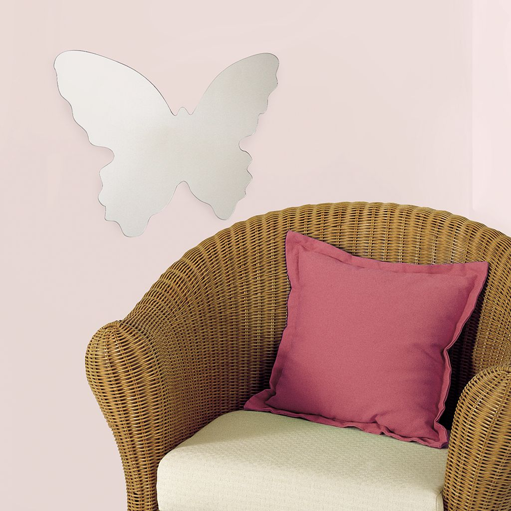 Mirrored Butterfly Wall Sticker