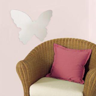 Mirrored Butterfly Wall Sticker