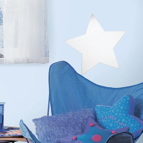 Mirrored Star Wall Sticker