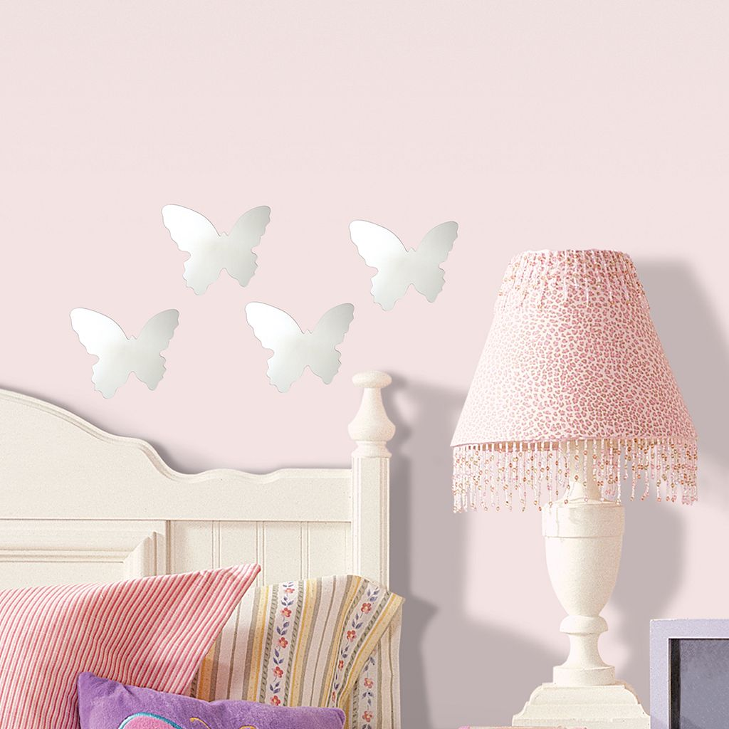 Mirrored Butterfly Wall Stickers