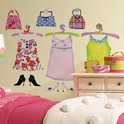 Dress Up Wall Stickers