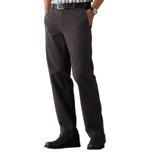 Men's SONOMA Goods for Life™ Twill Straight-Fit Flat-Front Pants
