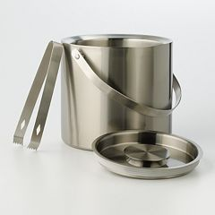 Food Network™ Double-Wall Ice Bucket with Tongs