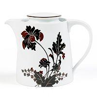 Mikasa Cocoa Blossom Teapot