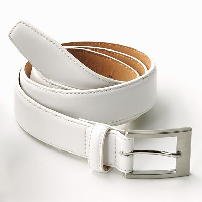 Croft and Barrow Soft Touch Leather Belt