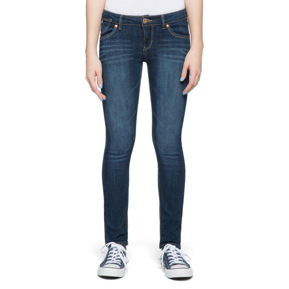 7-16 Levi's 711 Skinny Dark Wash Skinny Jeans