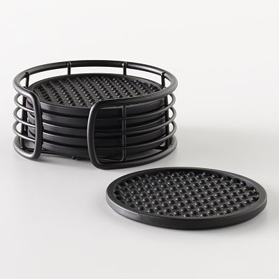 Food Network Coaster Set with Caddy