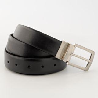 Croft & Barrow® Soft-Touch Reversible Faux-Leather Belt