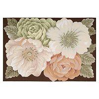 Fantasy Floral Rug - 5' x 7'5''