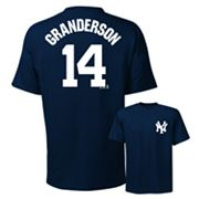 Majestic New York Yankees Curtis Granderson Tee