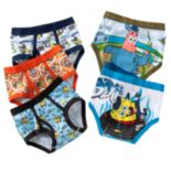 Boys 4-8 SpongeBob SquarePants 5 pkBriefs