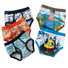 Boys 4-8 SpongeBob SquarePants 5-pk. Briefs