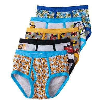 Disney/Pixar 5-pk. Briefs - Boys 4-8