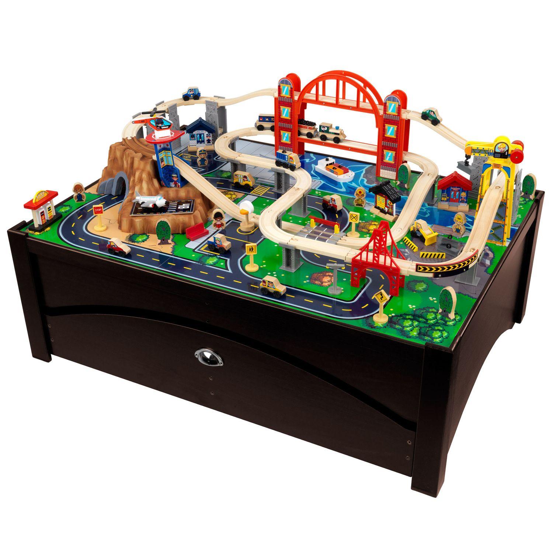 & KidKraft® Metropolis Train Table \u0026 Set