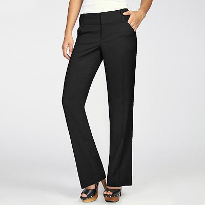 daisy fuentes Favorite Straight-Leg Pants