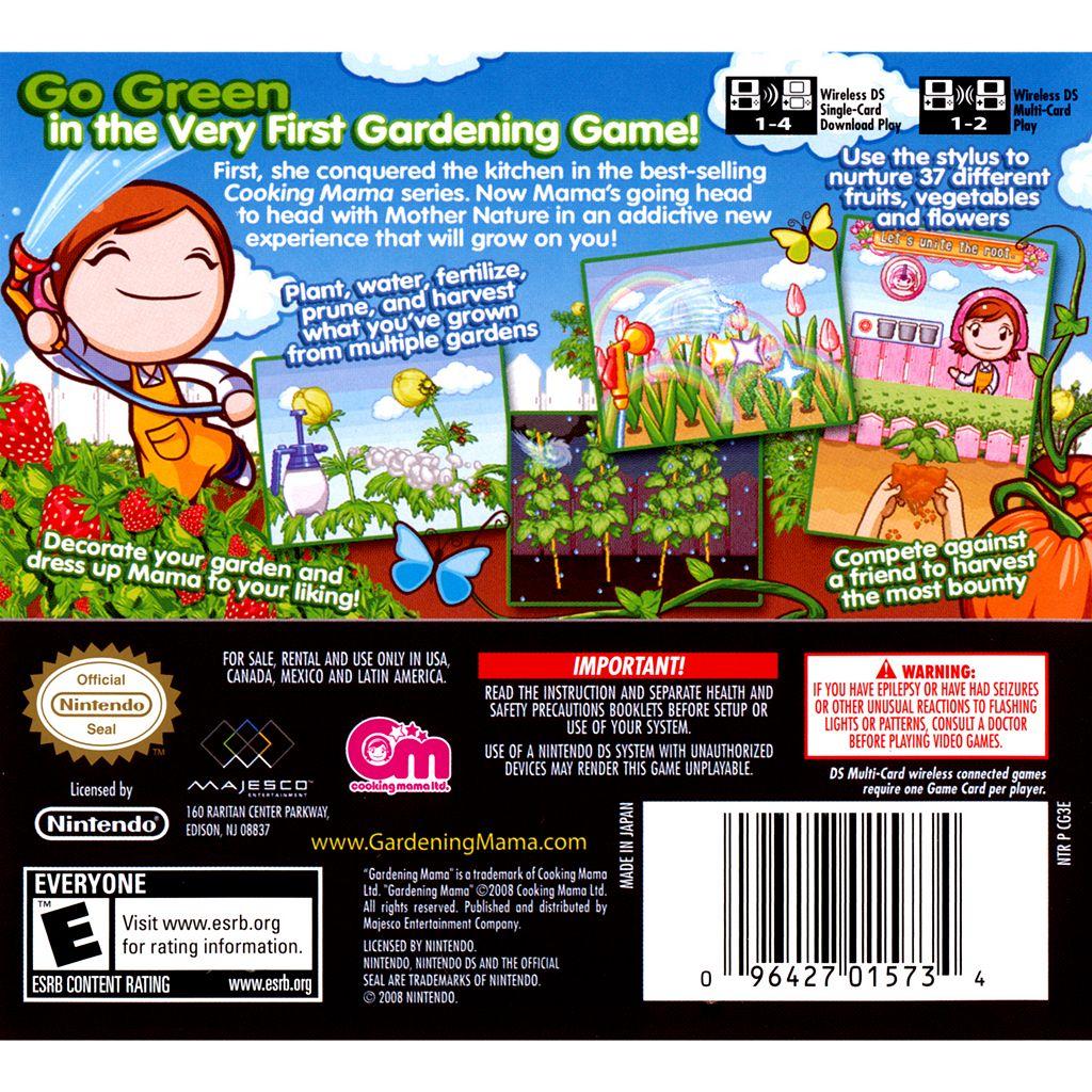 Nintendo DS Gardening Mama