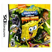 Nintendo DS SpongeBob SquarePants Featuring Nicktoons: Globs of Doom