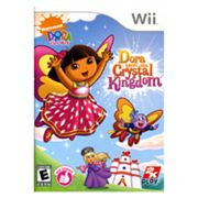 Nintendo Wii Dora the Explorer: Dora Saves the Crystal Kingdom
