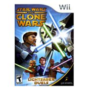 Nintendo Wii Star Wars The Clone Wars Lightsaber Duels