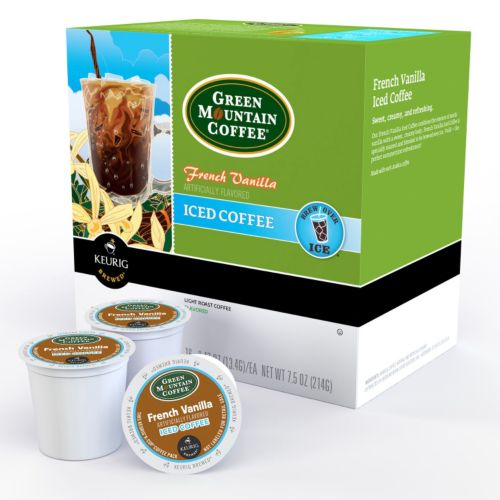 Keurig® K-Cup® Pod Green Mountain Coffee French Vanilla Iced Coffee - 16-pk.