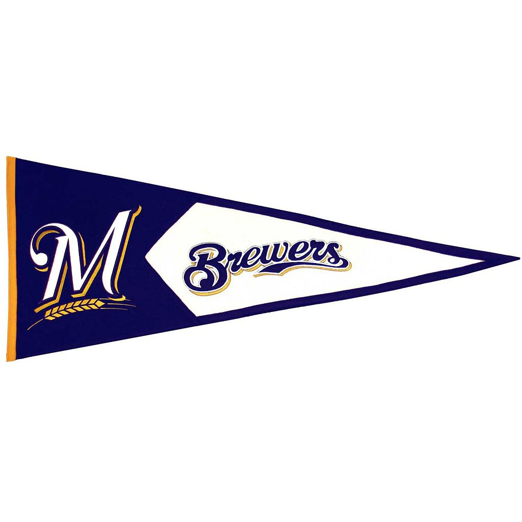 Milwaukee Brewers Classic Pennant