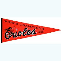 Baltimore Orioles Cooperstown Pennant