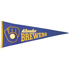 Milwaukee Brewers Cooperstown Pennant