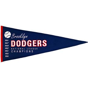 Brooklyn Dodgers Cooperstown Pennant