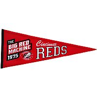 Cincinnati Reds Cooperstown Pennant
