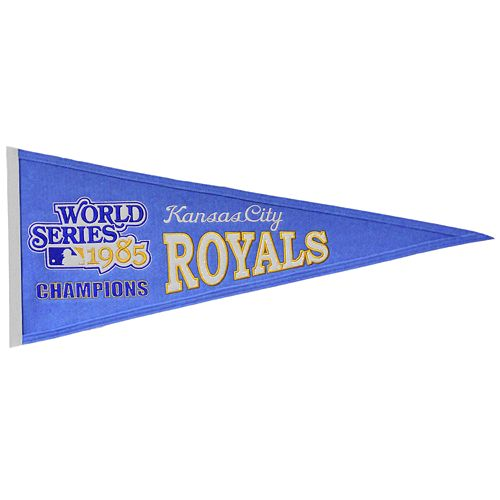 Kansas City Royals Cooperstown Pennant