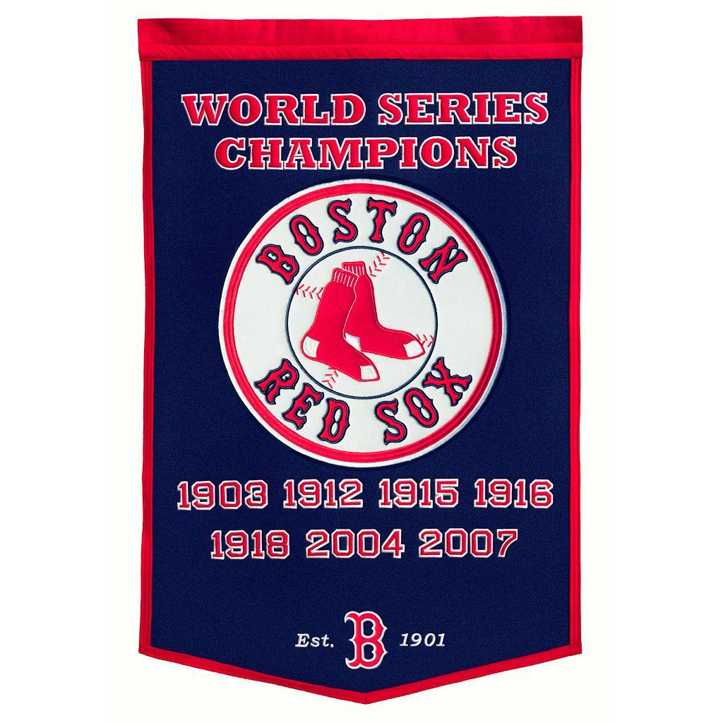 Boston Red Sox Dynasty Banner