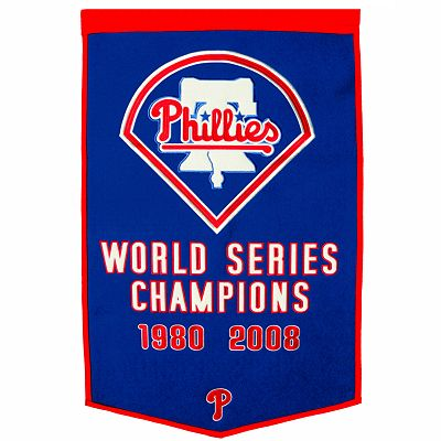 Philadelphia Phillies Dynasty Banner