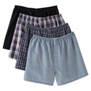 Jockey 4-pk. Full-Cut Boxers