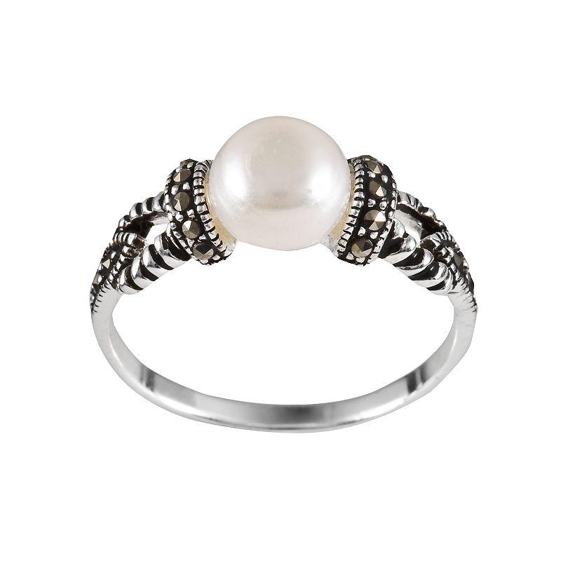 Kohls promo sterling silver freshwater cultured for Kohls jewelry mens rings
