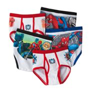 Fruit of the Loom Spider-Man 5-pk. Briefs - Boys 4-8
