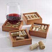 Wine Enthusiast Cork Coaster Kit