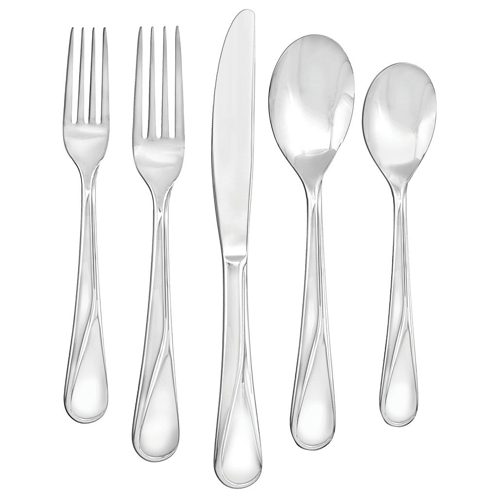 Farberware Capers 20-pc. Flatware Set