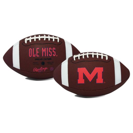 Rawlings Ole Miss Rebels Game Time Football