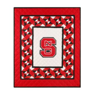North Carolina State Wolfpack Patchwork Quilted Throw