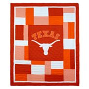 Texas Longhorns Patchwork Quilt